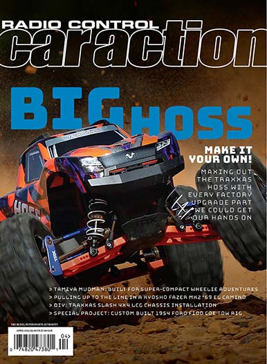 Latest issue of Radio Control Car Action Magazine