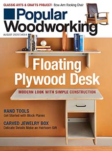 Latest issue of Popular Woodworking
