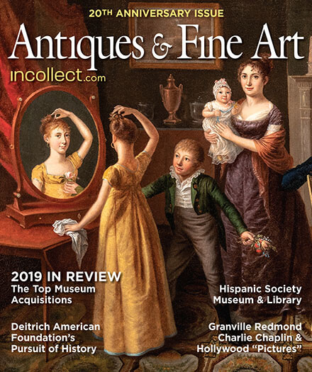 Latest issue of Antiques and Fine Art