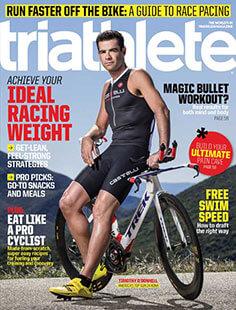 Latest issue of Triathlete Magazine