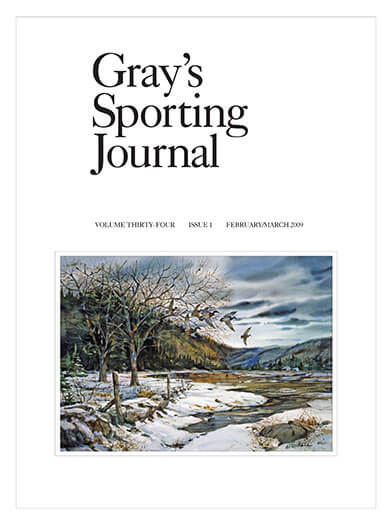 Latest issue of Gray's Sporting Journal