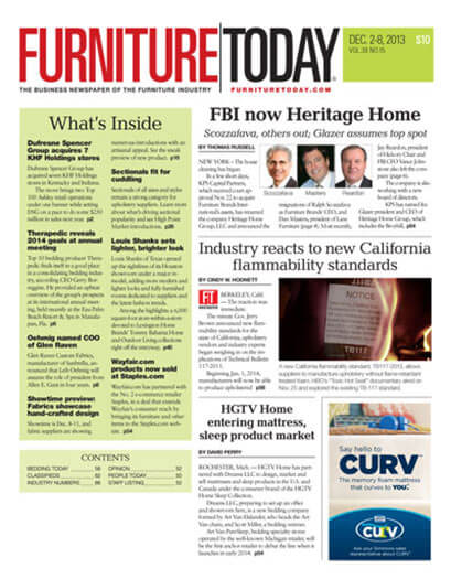 Subscribe to Furniture Today Newspaper