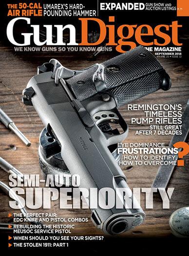 Latest issue of Gun Digest Magazine