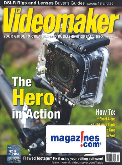Latest issue of Videomaker Magazine