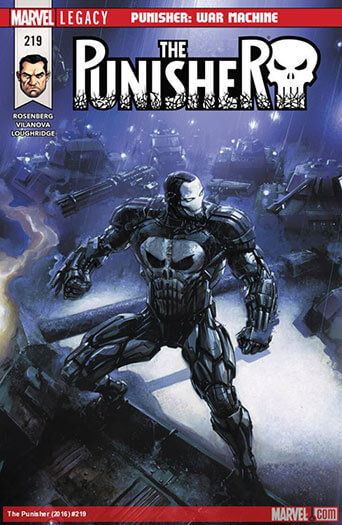 Latest issue of The Punisher Magazine