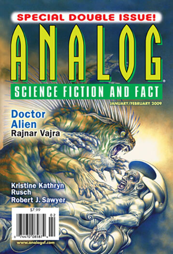 Latest issue of Analog Science Fiction and Fact