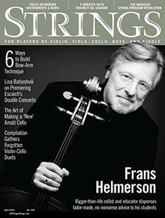 Latest issue of Strings Magazine