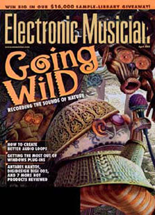 Latest issue of Electronic Musician