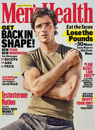 Latest issue of Men's Health