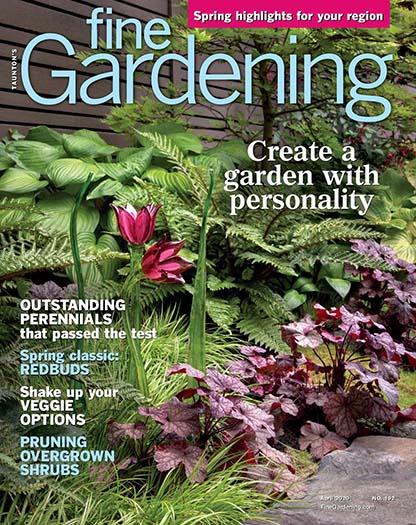 Latest issue of Fine Gardening