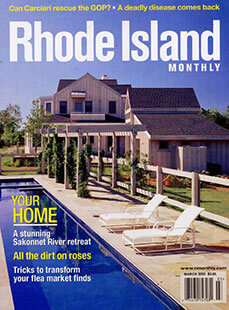 Latest issue of Rhode Island Monthly