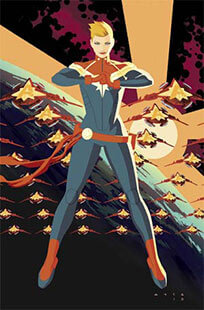 Latest issue of Captain Marvel