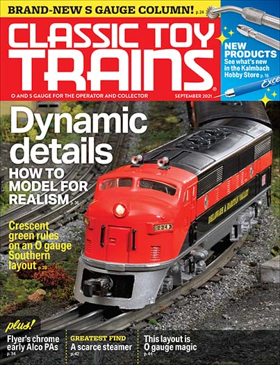 Latest issue of Classic Toy Trains