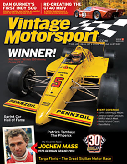 Latest issue of Vintage Motorsport Magazine