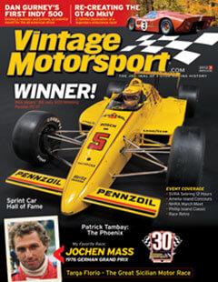 Latest issue of Vintage Motorsport Magazine
