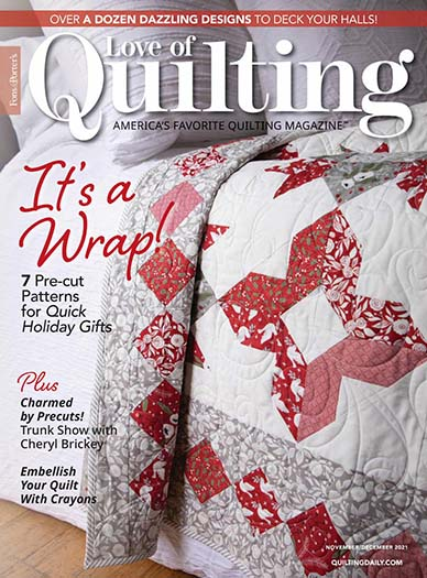 Subscribe to Fons & Porter's Love of Quilting