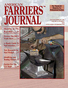 Latest issue of American Farriers Journal