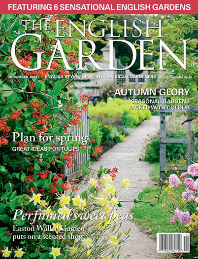 Latest issue of The English Garden Magazine
