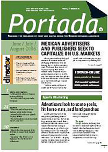 Latest issue of Portada Magazine