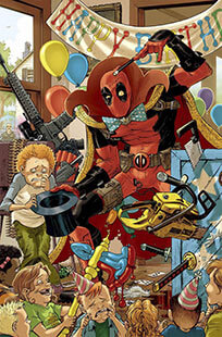 Latest issue of Deadpool Magazine