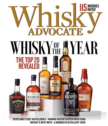Latest issue of Whisky Advocate Magazine