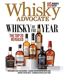 Latest issue of Whisky Advocate