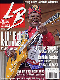 Latest issue of Living Blues