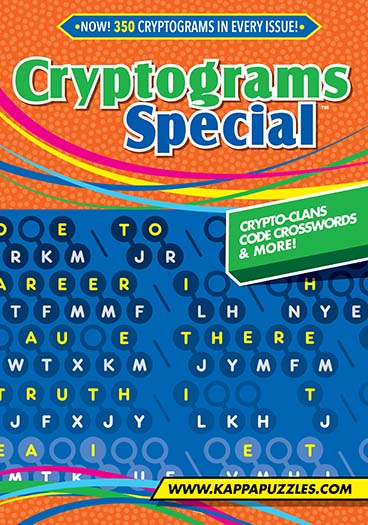 Latest issue of Cryptograms Special Magazine