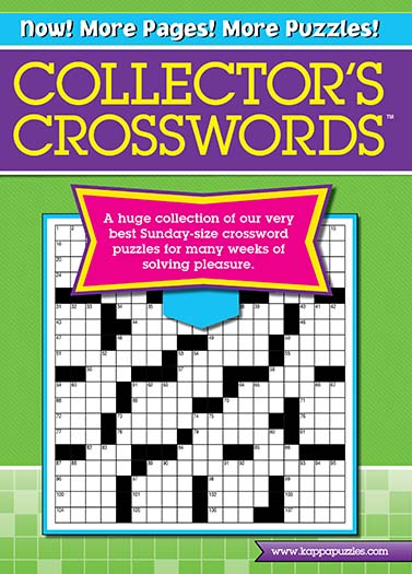 Latest issue of Collector's Crosswords