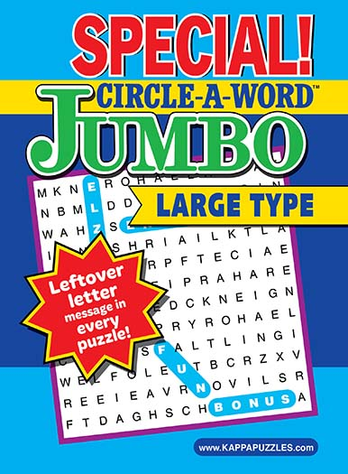 Latest issue of Special! Circle-A-Word Jumbo Magazine