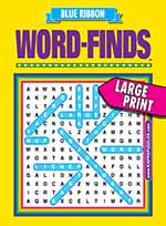 Blue Ribbon Word-Finds 1 of 5