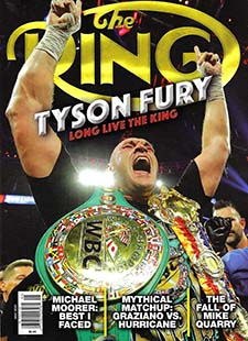 Latest issue of The Ring Magazine