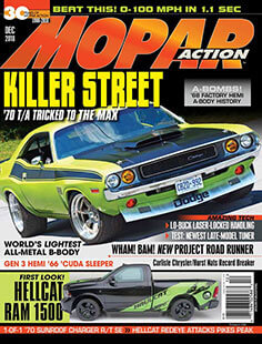 Latest issue of Mopar Action