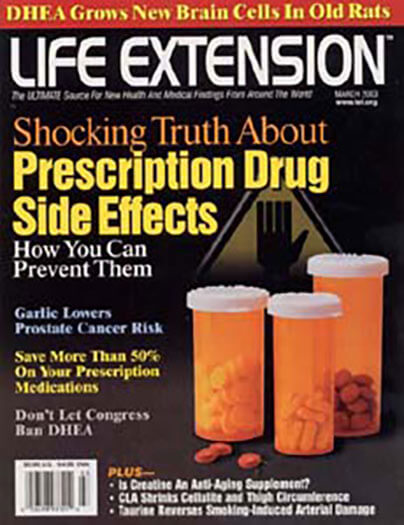 Latest issue of Life Extension