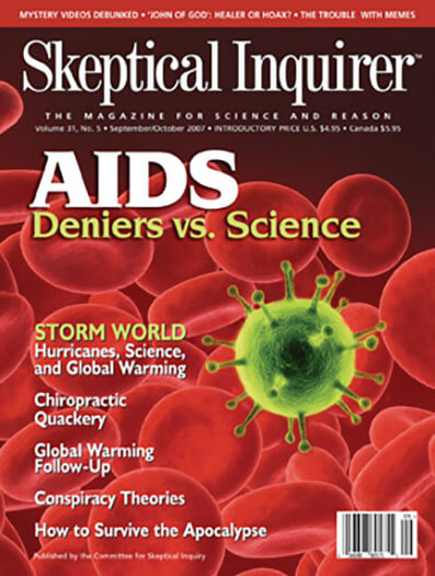 Latest issue of Skeptical Inquirer Magazine