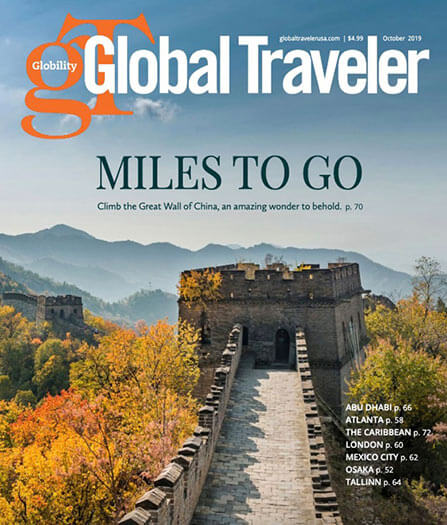 Latest issue of Global Traveler