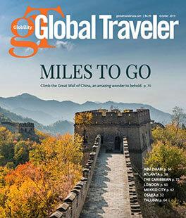 Latest issue of Global Traveler