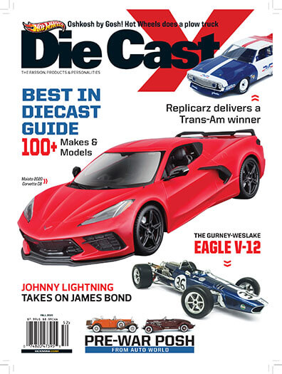 Latest issue of Die Cast X