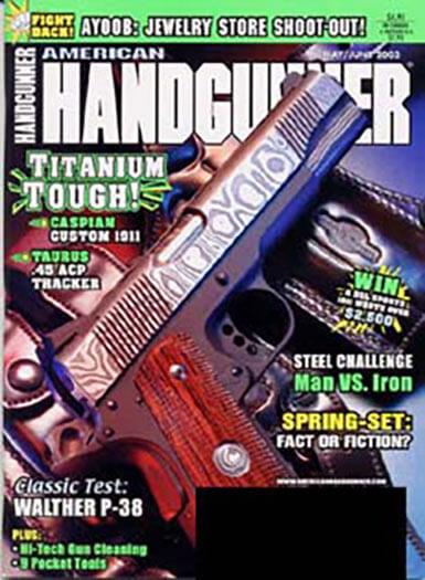 Latest issue of American Handgunner