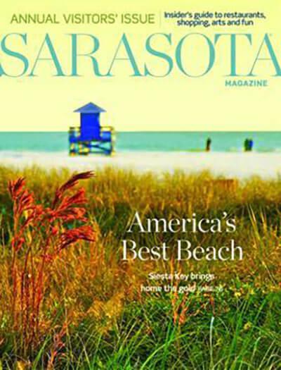 Latest issue of Sarasota Magazine