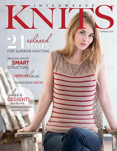 Latest issue of Interweave Knits Magazine