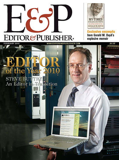 Latest issue of Editor and Publisher