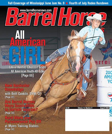 Latest issue of Barrel Horse News