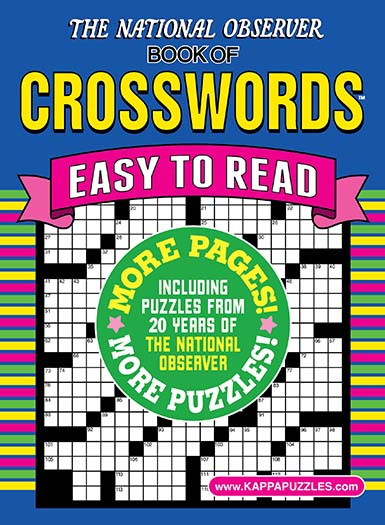 Latest issue of National Observer Book of Crosswords