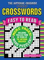 National Observer Book of Crosswords 1 of 5