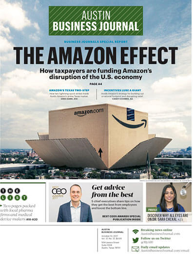 Latest issue of Austin Business Journal