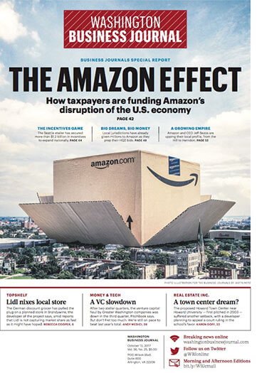 Latest issue of Washington Business Journal
