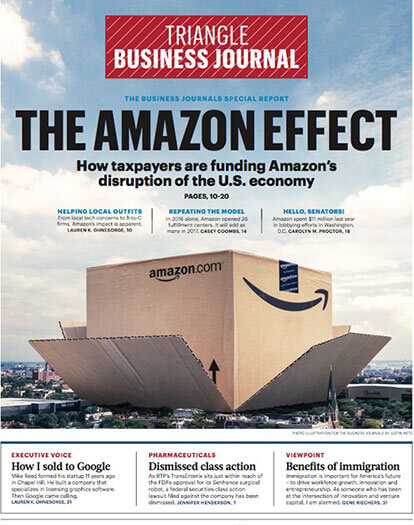Latest issue of Triangle Business Journal