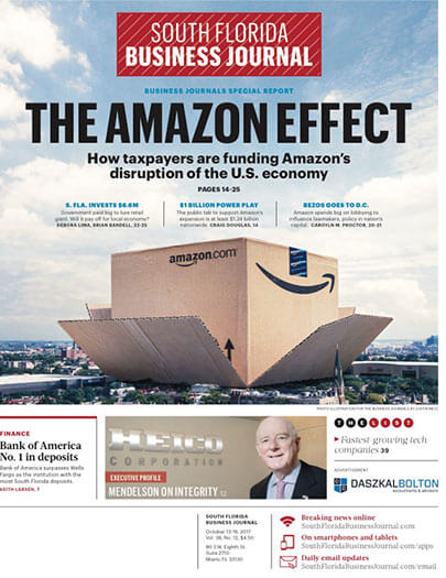 Subscribe to South Florida Business Journal