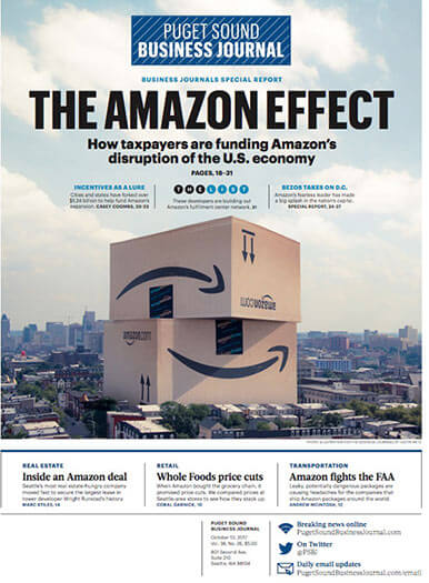 Latest issue of Puget Sound/Seattle Business Journal